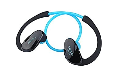 Karnotech®DACOM Athelete Sports&Gym Bluetooth Headsets/Earbuds/Headphones with Mic Connects Two Devices