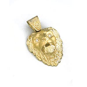 LIOR - Pendant 18ct Yellow Gold (18kt) Lion