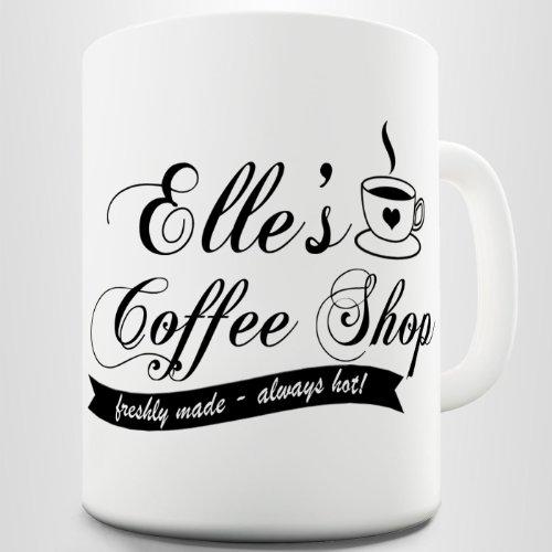 Personalised Coffee Shop Printed Mug