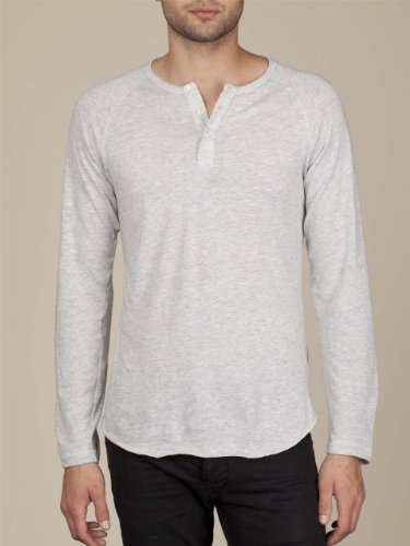 Men's Long-Sleeve Raglan Henley