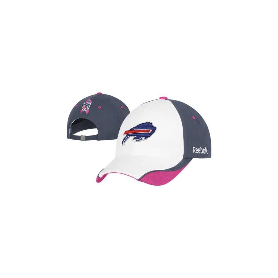 70071ee92a16e Buffalo Bills Breast Cancer Awareness Womens Player Sideline Adjustable Hat