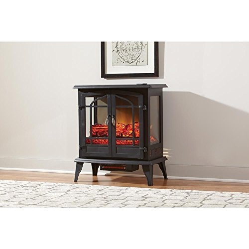 Hampton Bay Legacy 1,000 sq. ft. 25 in. Panoramic Electric Stove with Remote (Little Electric Stove compare prices)