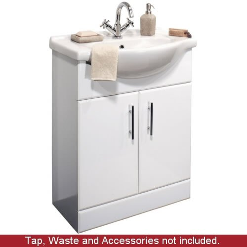 Bathroom Vanity Unit  &  Basin - 650 mm