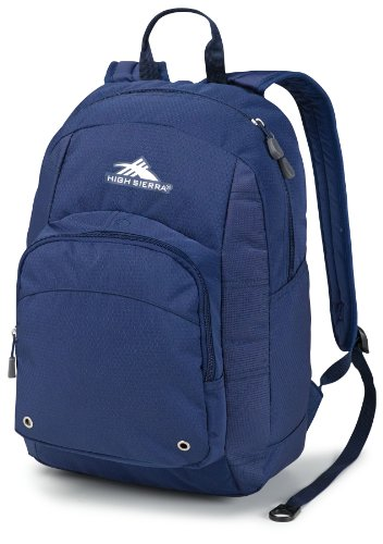 High Sierra Impact Backpack, True Navy, 17 X 11 X 8-Inch front-1054124