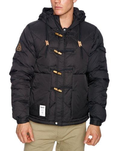 Addict Goose Duffel Mens Jacket Black X-Large