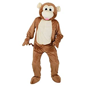 Cheeky Monkey Mascot - Adult Costume Adult - One Size