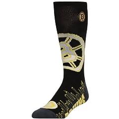 Buy Boston Bruins City Lights Crew Socks Size Large 8-13 - For Bare Feet by Bare