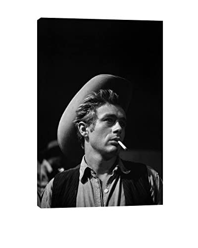 Retro Images James Dean #1 Archive Gallery-Wrapped Canvas Print