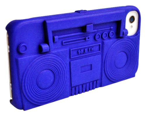 Freshfiber Boombox Case for iPhone 4/4S - Red
