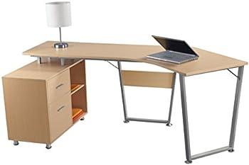 Realspace Brent Dog-Leg Desk