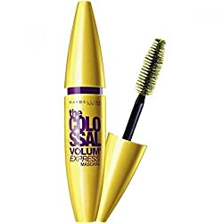Maybelline The Colossal Volum Express Mascara (Black) 10ml with Ayur Product in Combo