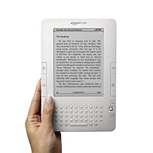 "Kindle Wireless Reading Device, Free 3G, 6"" Display, White - 2nd Generation"