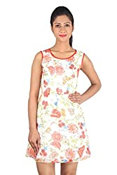Su&Jay Ivory Poly Georgette Tunic