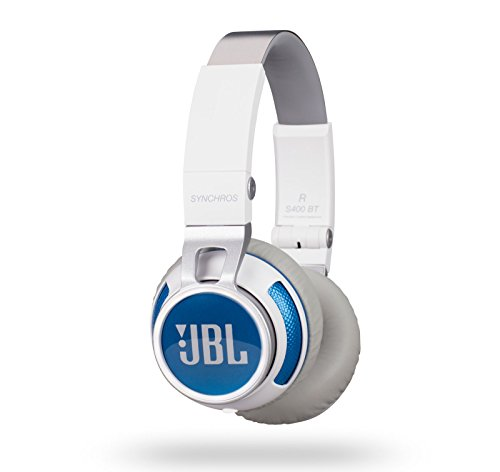 Click to buy JBL Synchros 400BT Bluetooth Wireless On-Ear Stereo Headphones, White - From only $140
