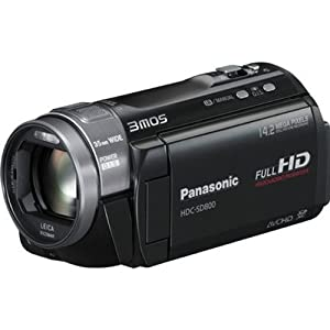 Panasonic HDC-SD800K 3D Compatible Camcorder + Lowepro Bag $505