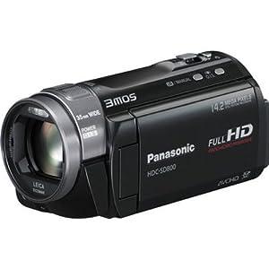 Panasonic HDC-SD800K 3 MOS Twin Memory 3D Compatible Camcorder (Black)