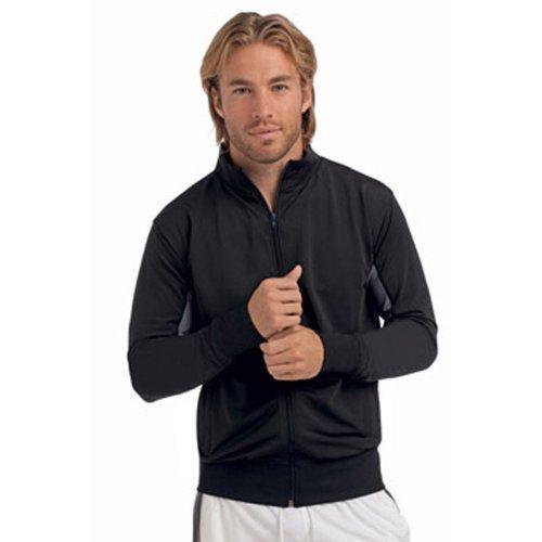 Hanes Mens Cool-Dri Athletic Track Jacket