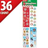 Christmas Stickers 36 Sheets