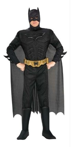 Costumes For All Occasions Ru888630Md Batman Deluxe Adult Medium
