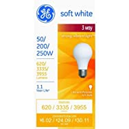 GE Lighting 97482 50/250 3-Way Bulb