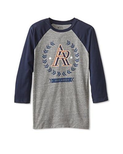 Athletic Recon Men's Ar Crest 3/4 Raglan