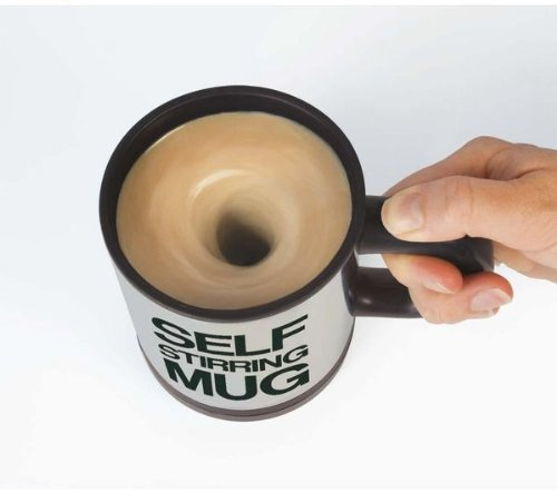 The Self-Stirring Mug
