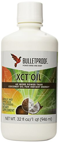 Bulletproof XCT Oil, 32 fl.oz.