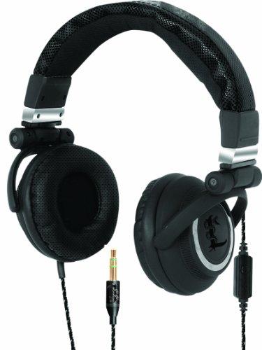 I-Tec T5501 Lethal Audio Digital Stereo Dj Headphone, Large - Black