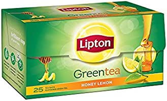 Lipton Honey Lemon Green Tea, 25 Tea Bags