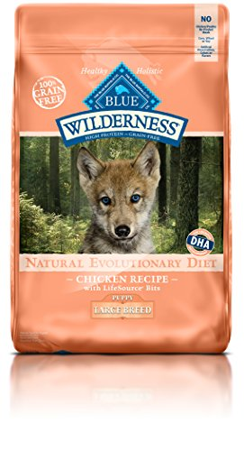 Blue Buffalo Wilderness Puppy Chicken Formula Large Breed - Grain Free 24 lb