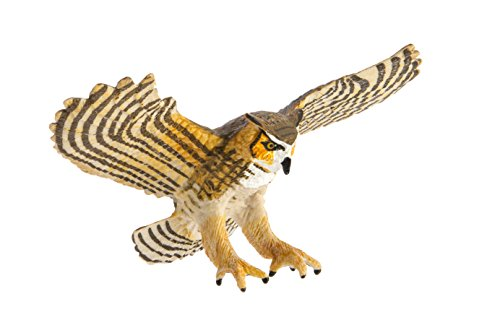 Safari Ltd Wings of the World Birds Great Horned Owl