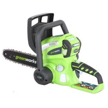 Greenworks 20082 40V Cordless Lithium-Ion 12-in Chain Saw (Tool Only)