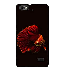 printtech Unique Fish Back Case Cover for Huawei Honor 4C::Huawei G Play Mini