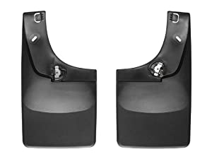 WeatherTech No Drill Mud Flap for Select Ford Models (Black)