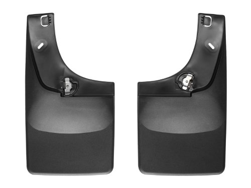 WeatherTech No-Drill Mud Flap for Select Chevrolet/Cadillac/GMC Models (2014 Chevy Suburban Mud Guards compare prices)