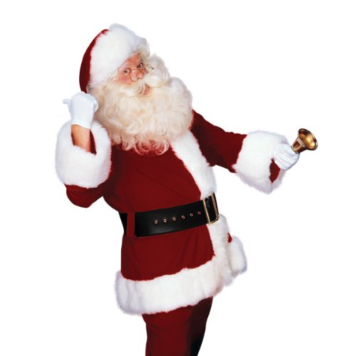 Rubie's Costume Men's Deluxe Santa Suit