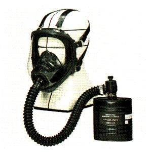 防毒マスク 隔離式  マスクGM161