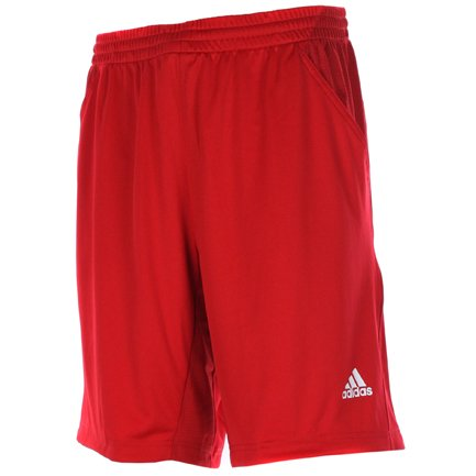 Adidas Mens Red Bermuda Comp Tennis Shorts