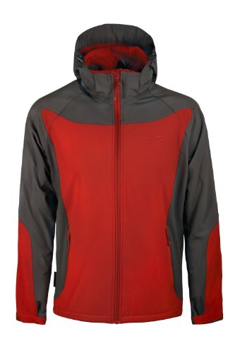 Mountain Warehouse Exodus Mens Softshell Windproof Cycling Running Hiking Jacket Coat Showerproof