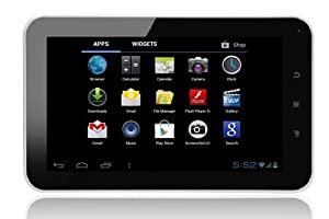 """TABTRONICS ELITE M009S 16GB Capacitive 7"""" Android tablet PC - Android 4.0 ICS (Ice Cream Sandwich)- now with DOUBLE storage (16GB) and DOUBLE system ram (1GB) for ULTIMATE PERFORMANCE - WiFi"""