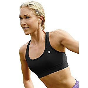 Champion Double Dry Absolute Workout II Sports Bra Wirefree M, Black