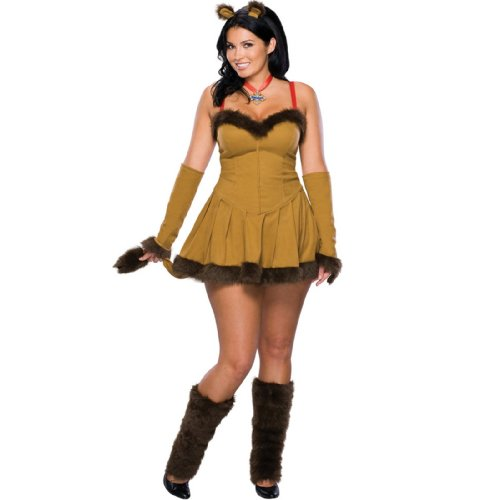 Cowardly Lion Adult Plus Costume - Plus - Adult Costumes