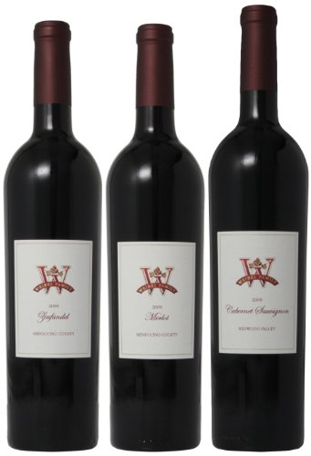 Weibel Family North Coast Rich Red Wines Mixed Pack, 3 X 750 Ml