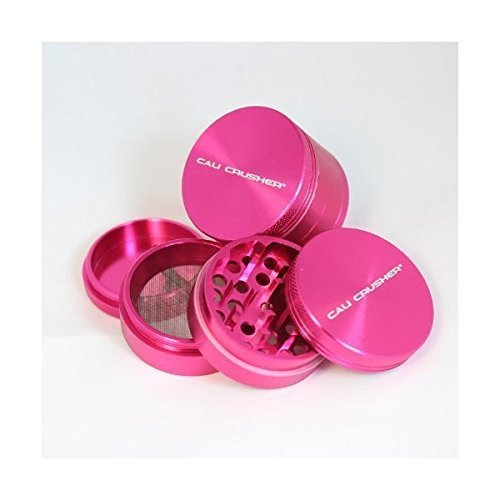 Cali Crusher Herb Grinder 4 Piece Pink by Cali Crusher?? (Cali Crusher Grinder Pink compare prices)