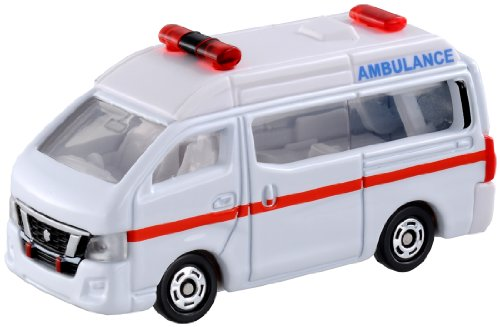 Takara Tomy Tomica No.18 Nissan Nv350 Caravan Ambulance Box Takara Tomy - 1
