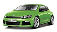 1/24ダイキャストミニカー VWシロッコR メタリックグリーン