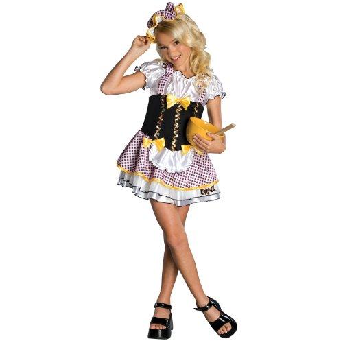 [Bratz Bratty Goldilocks Child Costume Size Small] (Goldilocks Costume For Kids)