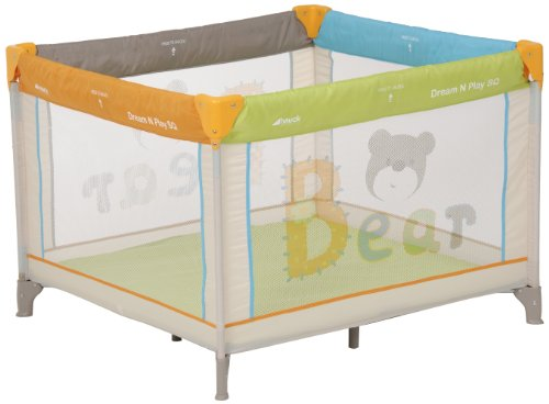 hauck Dream'n Play Square Playpen Bear