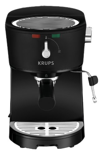 Discover Bargain KRUPS XP3200 Opio Pump Boiler Espresso Machine with Milk Frothing Nozzle for Cappuc...
