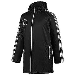 adidas Men\'s Condivo 12 Stadium Jacket (Black/White - Medium)